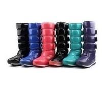 Rubber duck rubber duck berber fleece snow boots high boots snow boots waterproof slip-resistant high-leg