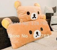 95*38cm Christmas gift plush toy Rilakkuma plush double pillow lover Rilakkuma bear Large pillow plush free shipping