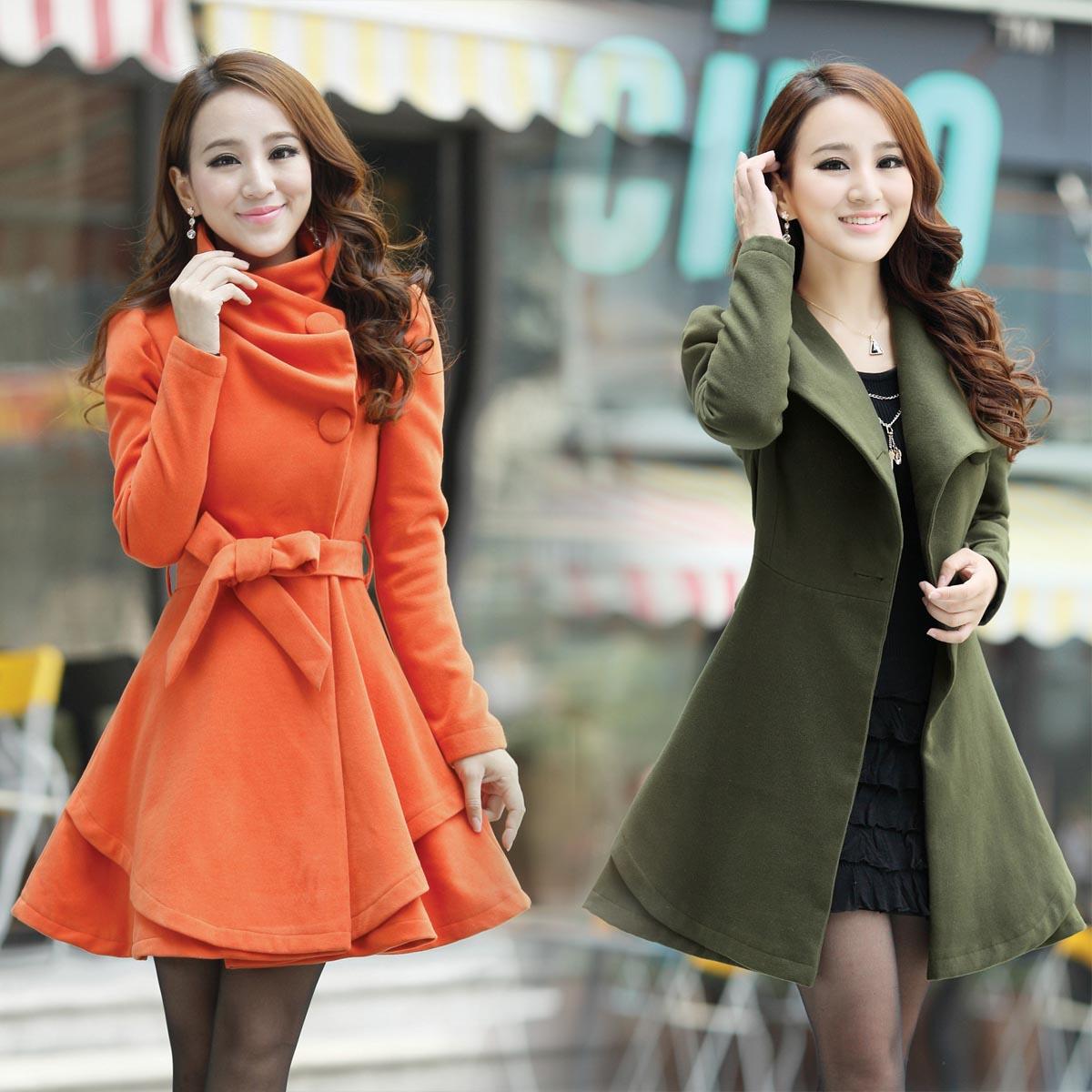 Зимнее пальто короткие или средние для девушки фото 2