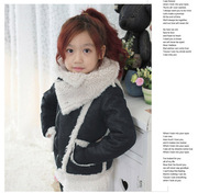 2013 new autumn winter brand designer children clothing girls outerwear, children outerwear & coats jackets for 2-8Y