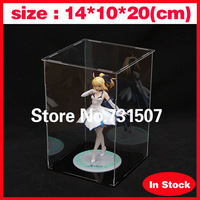 Wholesale 14*10*20cm Japanese Anime Toys Hand-done Acrylic Model Display Cabinet Model Display Box(Does not contain model)