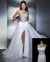 2013 New  Arrival Double 11.12 fashion  formal dress diamond decoration formal dress  344  fromal sexy Wedding dress