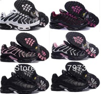 Fast Shipping Wholesale Famous Sneakers Plus TN I Women's Sports Running Shoes Footwear Shoes C34 Black Size 36-40 Mix order