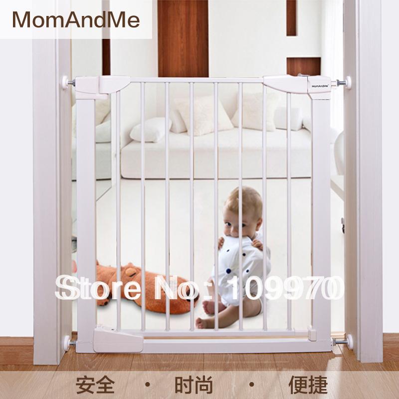 bebê criança cerca de segurança Porta Guardrail Pet Dog Portão Cerca Stair automática Proteja as crianças Segurança DoorwaysDHL / FEDEX queda livre(China (Mainland))