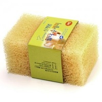 Free shipping   Filter cotton cleaning brush     sponge  for kitchen   (2pieces per pack )      312pack/carton