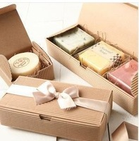 moon cake boxes cowhide color West Point small  biscuit cake box 10pcs wholesale