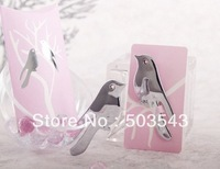 Free shipping 35pcs/lot wedding favor Love Birds Letter Opener souvenirs for Wedding Party
