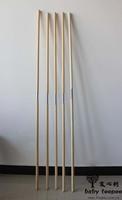 Teepee pole with plastic sleeve