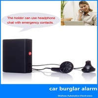 Vibration Sensor & Sound Sensor GSM SMS car home sim alarm security system + AGPS Tracking + SOS, Free Shipping