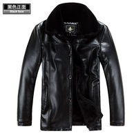 Free shipping Men's wear brand new leather, high-grade sheep fur coat, Genuine Leather jacket, men winter fur coat ,M-5XL H1719