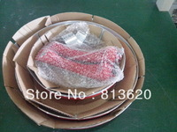 FREE SHIPMENT -3 PCS FRY PAN CERAMIC FRY PAN ---NON STICK---CAN BE USE ON THE GAS STOVE & INDUCTION COOKER SAME TIME