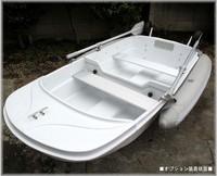 Simple 2.47 meters glazed steel fishing boat fishing boats buoy