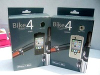 EMS Freeshiping 20Pcs/Lot Waterproof Bike Bicycle Cycling Handlebar Mount Stand Holder Case For iphone 4 4S