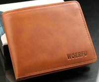 Promotion! Hot selling! Men's Wallet Sort Design Horizontal and vertical Folder Men's Wallet multi Card Holder