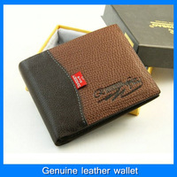 Fast shipping, brand men's leather wallet Hot Products Hot sale