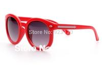2014 Free Shipping The metal rivets arrow UV400 Children's Sunglasses