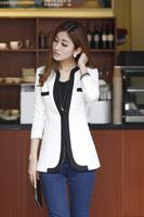spring 2014 jackets women slim suit blazer outerwear coats blazer women