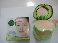 3PCS/LOT Free shipping!2013 New arrival!High quality Makeup refine green powder