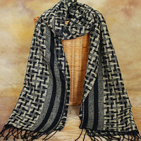 2013 male scarf fashion preppy style houndstooth commercial male scarf muffler scarf