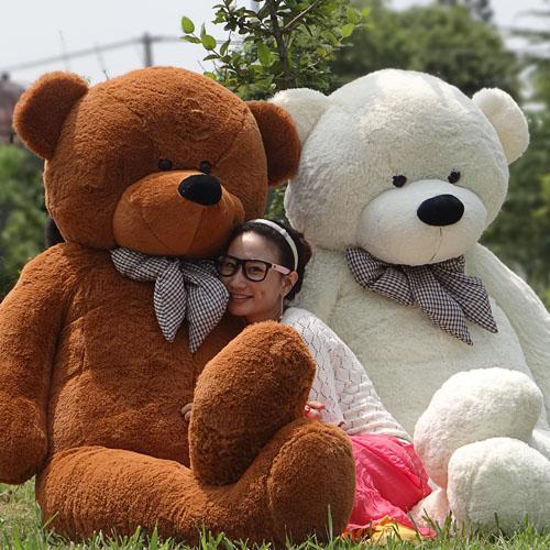 Lovers plus size teddy bear Giant Stuffed Bear