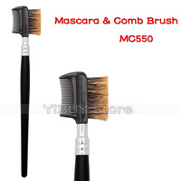 Professional Single Makeup Brush Eyelash Eyebrow Comb Brush Classical Cosmetic Tools Free Shipping