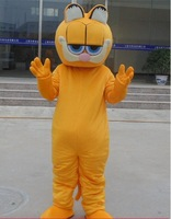 Garfield costume Cartoon clothing walking dolls Christmas Mascot costume Adult size