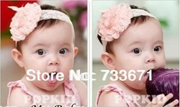 Clearance !   Baby Girl's Lace Headband Headwear,Girls Topknot Hair Accessories,Infant Hair Band , Free Shipping xth055