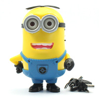 Despicable Me 2 Cute Minion Computer Hifi Portable Card Speaker MP3 MP4