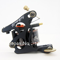 DHL Free Shipping 10pcs/lot 2013 New Arrival Iron Tattoo Machine Gun 10 coils For Shader TM-S007