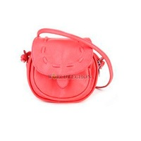 W7 Women PU Leather Vintage Shoulder Crossbody Handbag Purse Watermelon Red #T1K