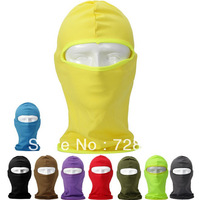 Free Shipping 1pcs CS Field Anti-terrorism Put Mask Looting Cap Navy Cap Ski Hat Mask Leica ONE Hole Caps-10colors