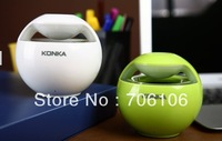 2013 New Arrival Konka wireless bluetooth speaker usb mini mobile phone audio portable car audio outdoor mini speaker