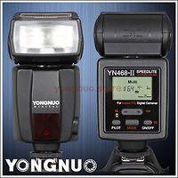 YONGNUO Upgraded YN 468 II TTL Flash Speedlite for Canon 7D 60D 50D 40D 30D 6952056894567