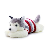 Sweater husky doll dog plush toy child birthday gift for the girls