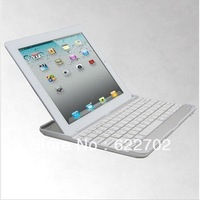 free shipping Aluminum Alloy bluetooth keyboard for ipad mini white black color