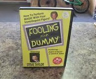 Fooling Your Dummy by Steve Taylor (child magic), only magic Teach - In,no gimmick,fast delivery, magic trick free shipping