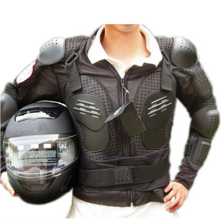 Hot Sale Sz M-3XL New Mens Motorcycle Body Armor Back Spine Chest Protective Jacket 53319(China (Mainland))