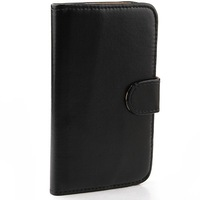Protective Leather Case Cover for Samsung GALAXY Note 3-black