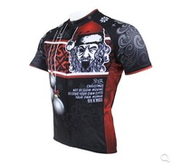 Happy Christmas!!! New Mens Cycling jersey PaladinSport Crazy Christmas A37  , Free Shipping