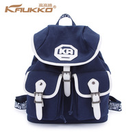 FP96 Kaukko Canvas Backpack Drawstring School Bag  Men Women Casual Canvas Bag Travel Bag