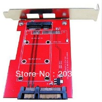 mSATA SSD to SATA II Converter adapter with PCI-e Bracket CB963FB9