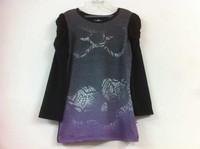 free shipping monster high school girls girl long sleeve cotton tops t shirts shirt T-shirt