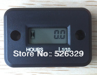 Waterproof Inductive Hour Meter Used For Motocross,ATV,Dirt Bike,Snowmobile,Glider,Lawn Mower,Jet Ski