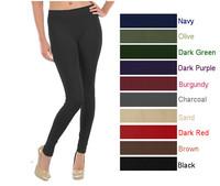 Women's seamless fleece leggings