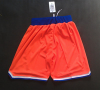 Carmelo Anthony new season orange alternate shorts.