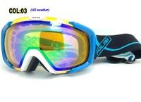 Free shipping Sports Snowboard Ski Goggles Mountain double layer anti fog professional ski glasses with myopia spectacles