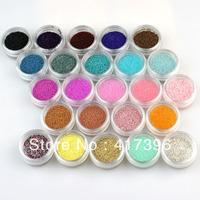 24 Colors Nail Art caviar beads Shapes nail art manicure diy decoration glitter NA659B