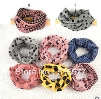 Collar cartoon number of new fund of 2013 autumn winters multicolor cotton joker collar scarf wholesale
