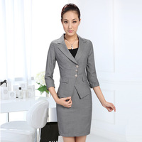 Twinset slim women's work wear work wear skirt fashion ol professional set autumn ol female