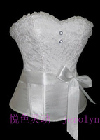 Fashion royal shapewear vest bride dress top